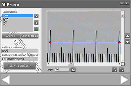 کالیبره کردن تصویر در نرم افزار MIP