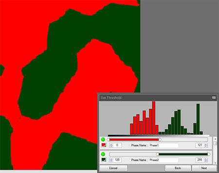 جدا سازی تصویر در نرم افزار MIP